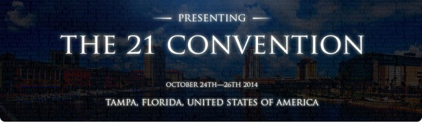 21 convention banner